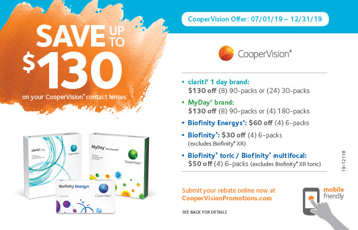 CooperVision Rebates | Contact Lens Rebates | CooperVision