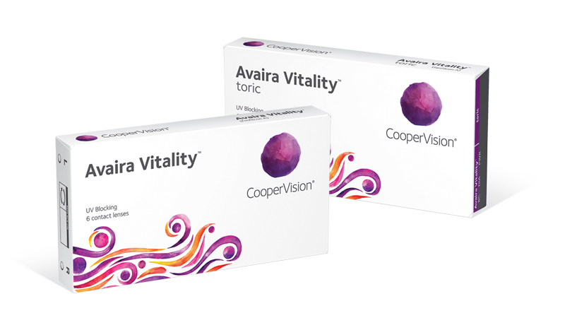 Avaira Vitality™ contact lenses