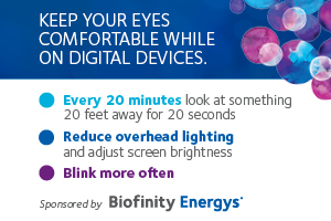 Keep your eyes comfortable while on digital devices