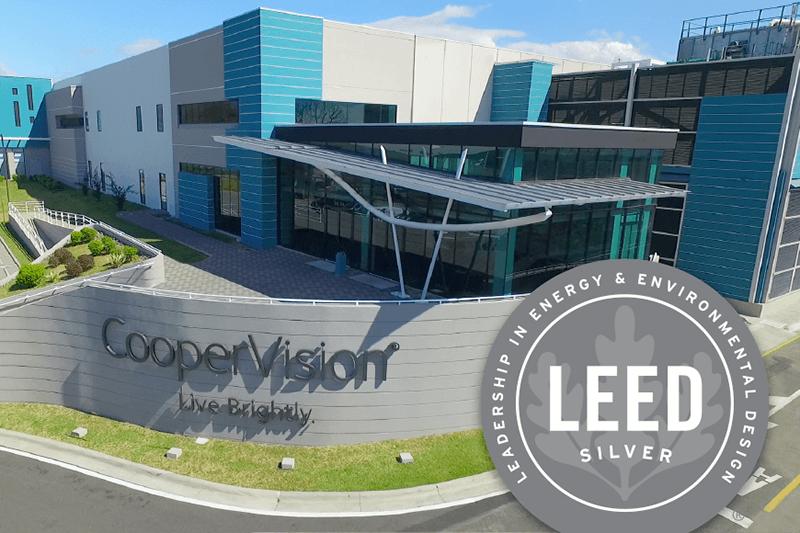 CooperVision Cotsa Rica manufacturing facility