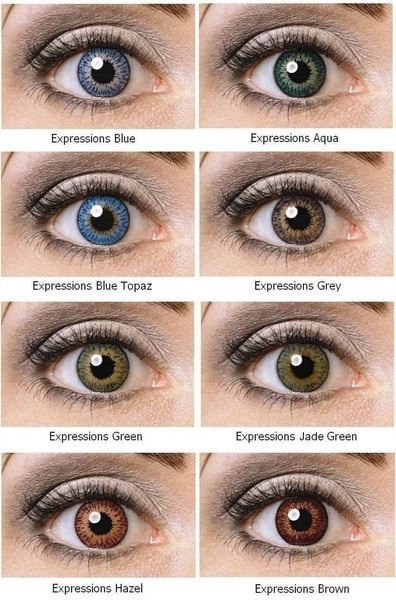 Best Natural Coloured Contact Lenses