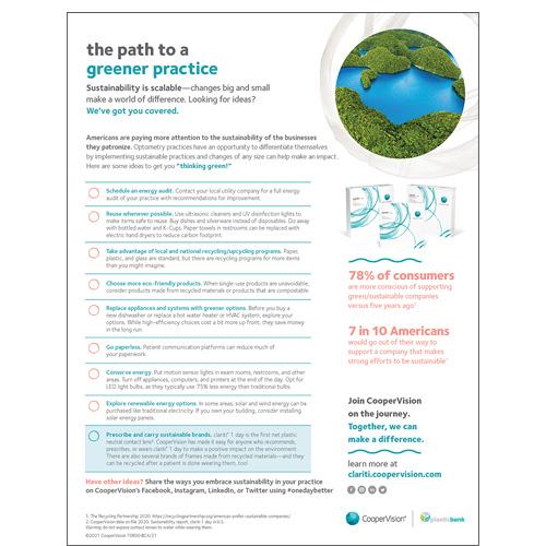 Sustainability Checklist