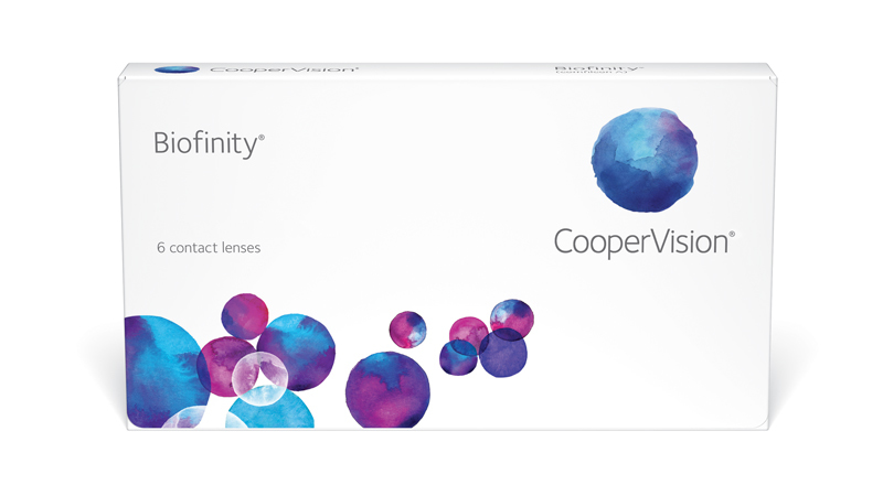 Biofinity & Biofinity XR contact lenses