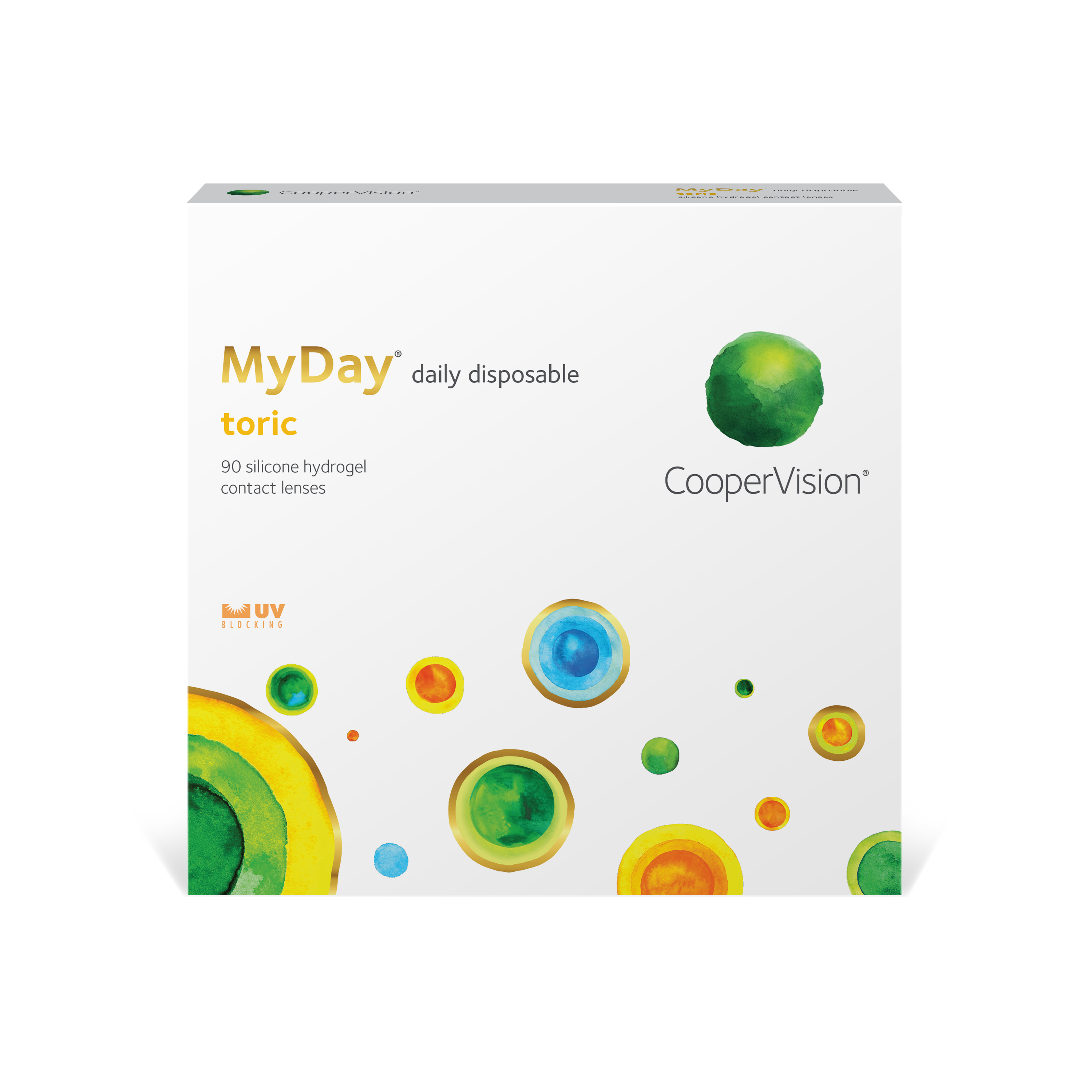MyDay® daily disposable lenses