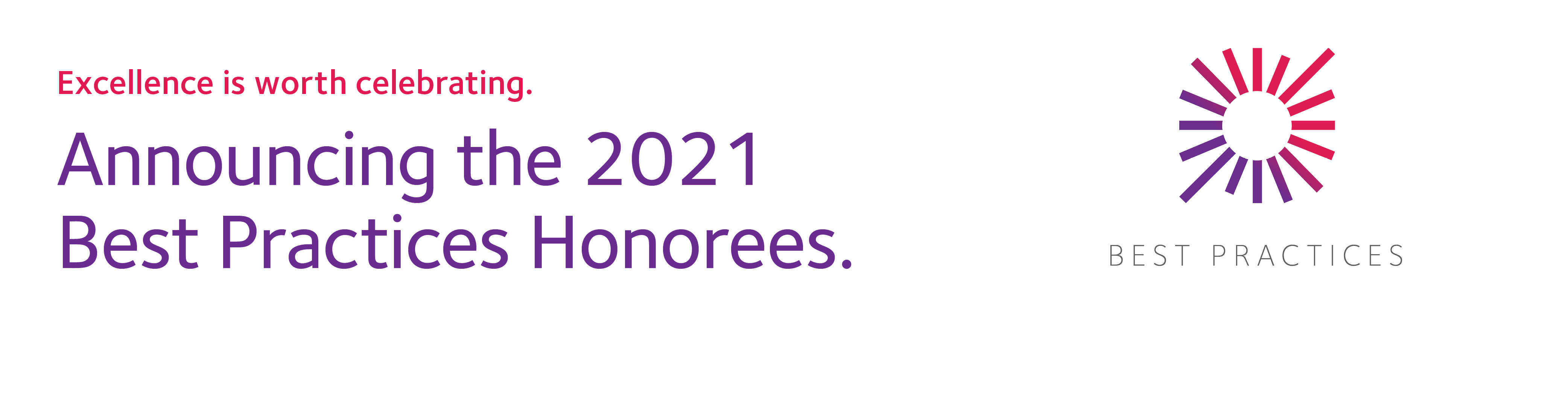 Best Practices 2021 Honorees
