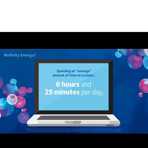 'Average screen time' Animated Facebook 1