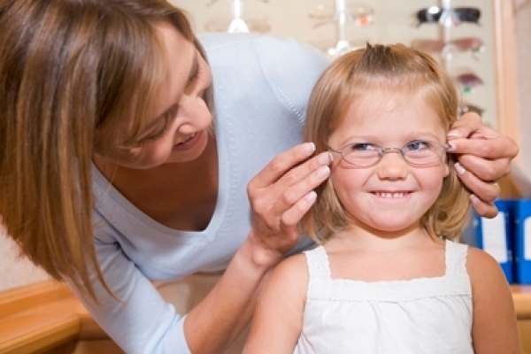 Kids' eye exams