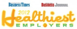 2012 & 2011 Healthiest Employers in the Bay Area