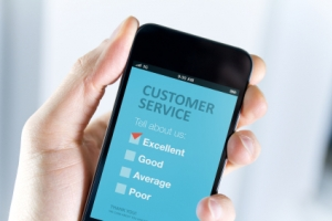 Mobile Device With Online Review