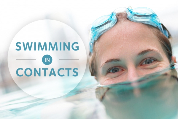 Swimming in contacts.