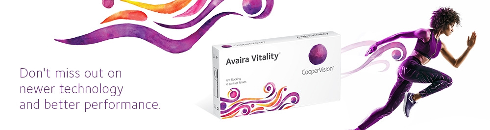 49517065086 Avaira Vitality™ is a contact lens that keeps up with your lifestyle