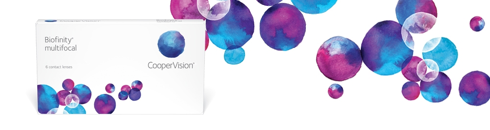 Biofinity® multifocal Contact Lenses | CooperVision