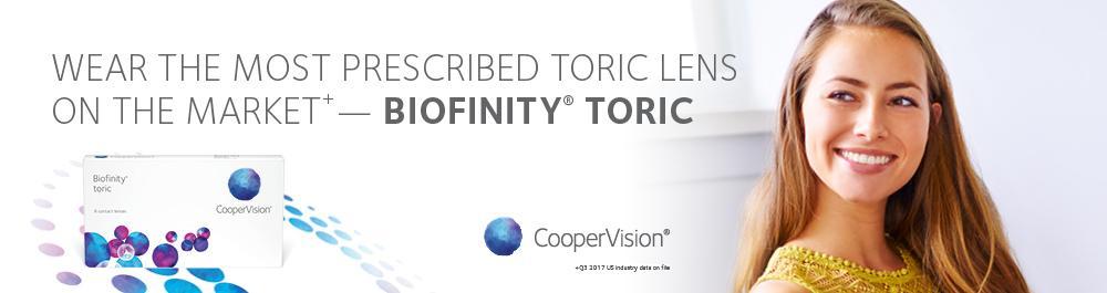Biofinity toric lenses