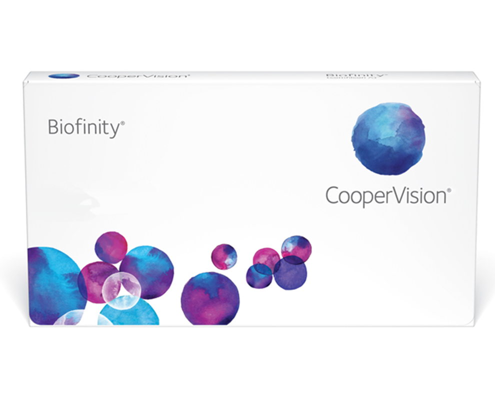 CooperVision Biofinity® contact lenses