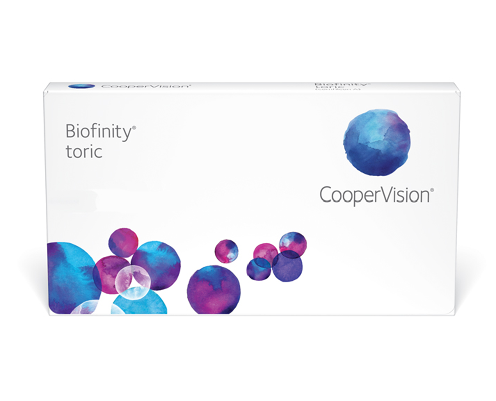 Biofinity® toric contacts for astigmatism