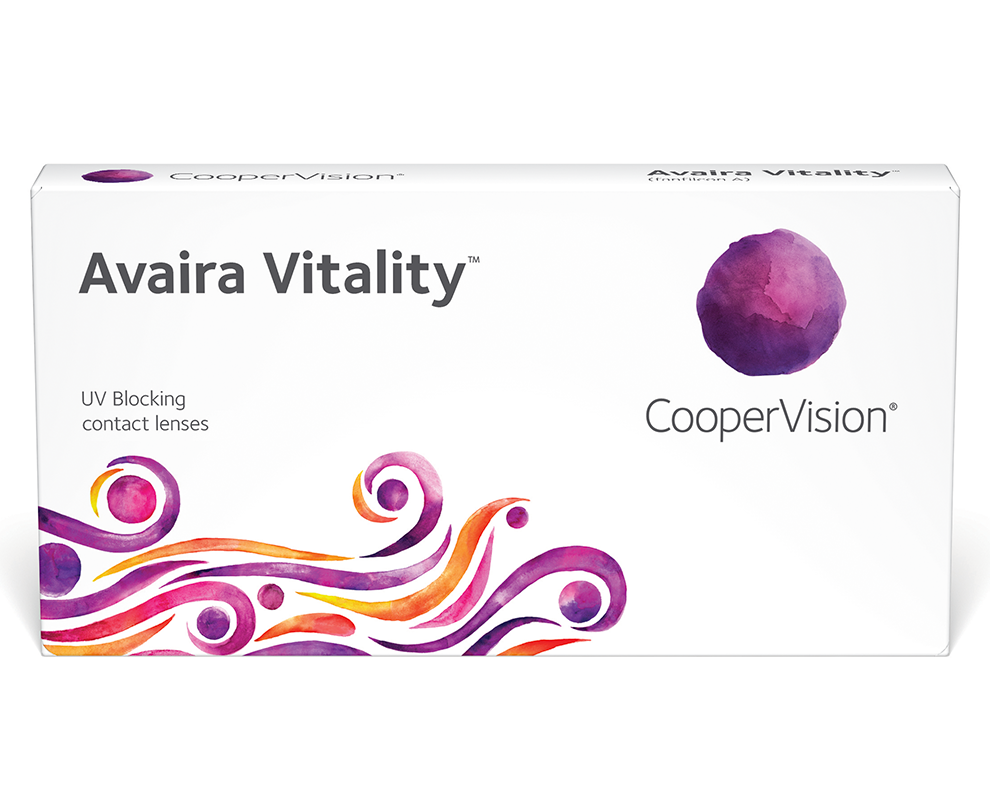 Avaira Vitality contacts