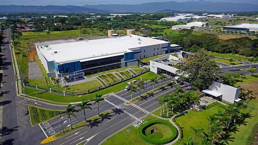 CooperVision Costa Rica aerial view