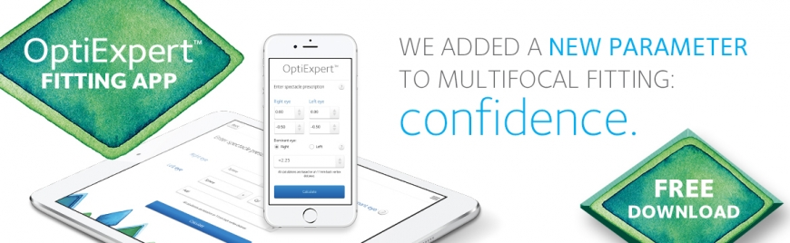 CooperVision OptiExpert™ Banner