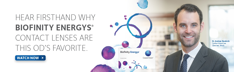 OD Feedback on Biofinity Energys