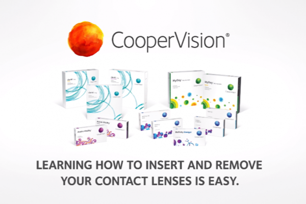 How to insert and remove contact lenses video