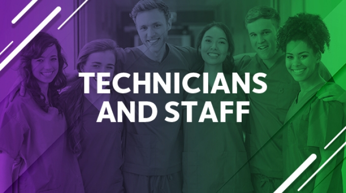 Technicians and Staff